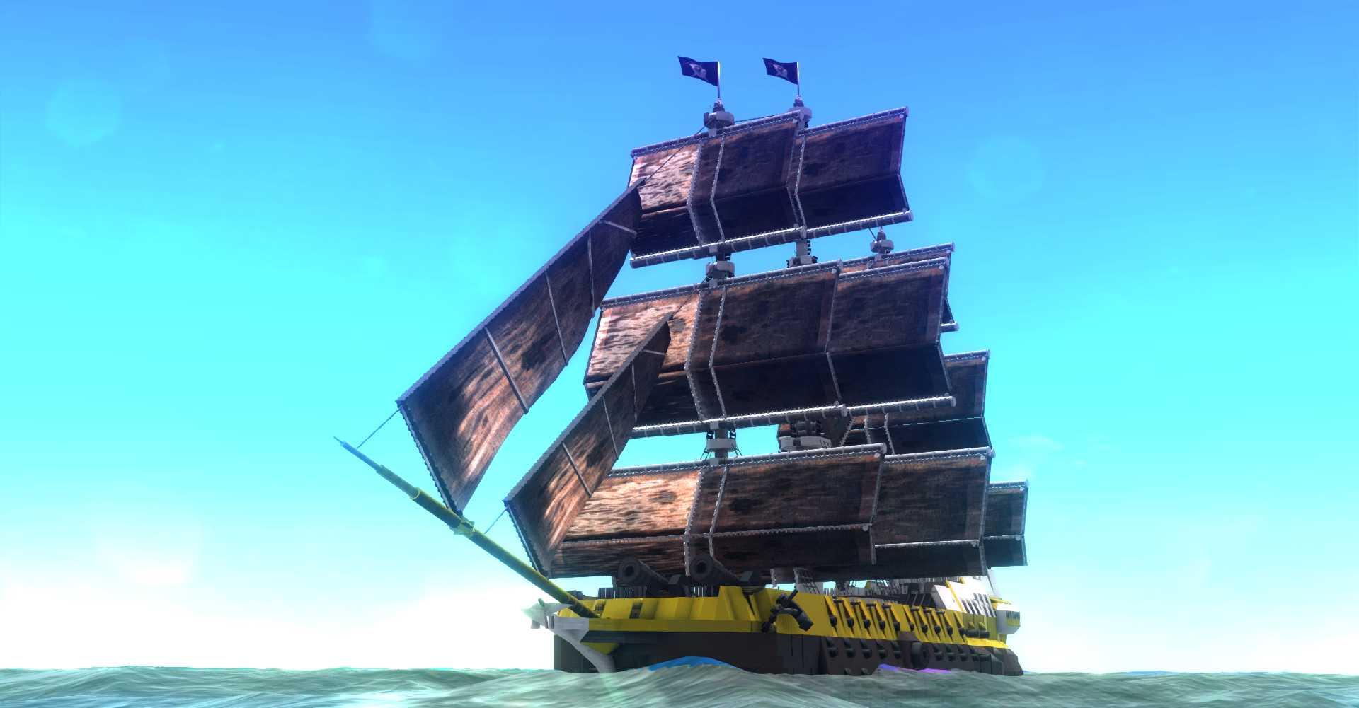 …to sailing ships
